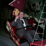 Walt on Peter Pan at Disneyland